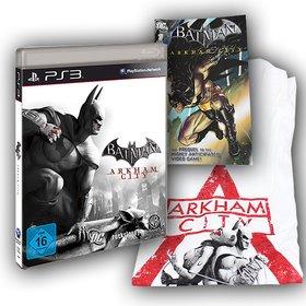 Als Hauptpreis gibt es das neueste Abenteuer von Batman - Arkham City für die Playstation 3. Dazu bekommt der Gewinner einen DC-Comic und ein T-Shirt.