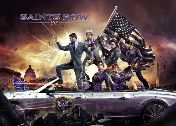 """In Saints Row 4 ist der Anführer der """"Third Street Gang"""" zum Präsidenten der Vereinigten Staaten von Amerika aufgestiegen."""