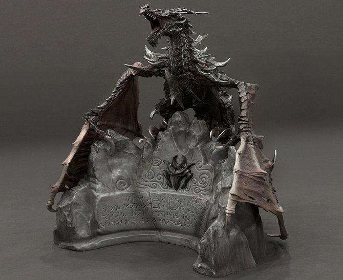 Die Sammler-Edition zu Skyrim nimmt ebenfalls ...