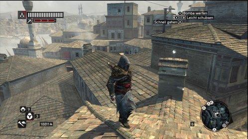 Über den Dächern ist die Aussicht am besten. (Assassin's Creed - Revelations)