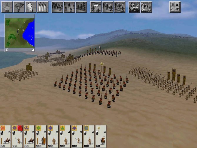 Nach diversen Sportspielen landete Michael de Plater mit der Total-War-Reihe ...