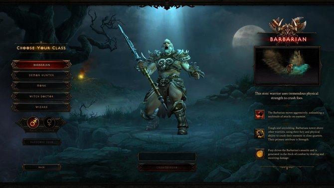 Auf den folgenden Bildern aus dem Spiel, seht ihr Details zu den Charakteren. Hier der Barbar.
