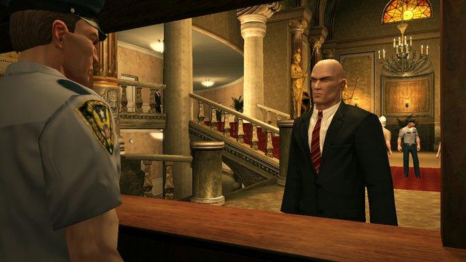 Anzug und rote Krawatte sind die Lieblingskleidung von Nummer 47.
