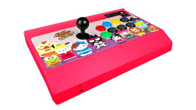 In feschem Pink ist der neue Fighterstick gleichermaßen Vater- wie Tochter-kompatibel.