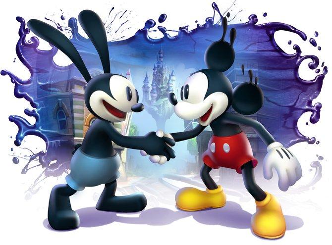 Oswald und Micky - die Freunde kämpfen gemeinsam gegen das Böse.