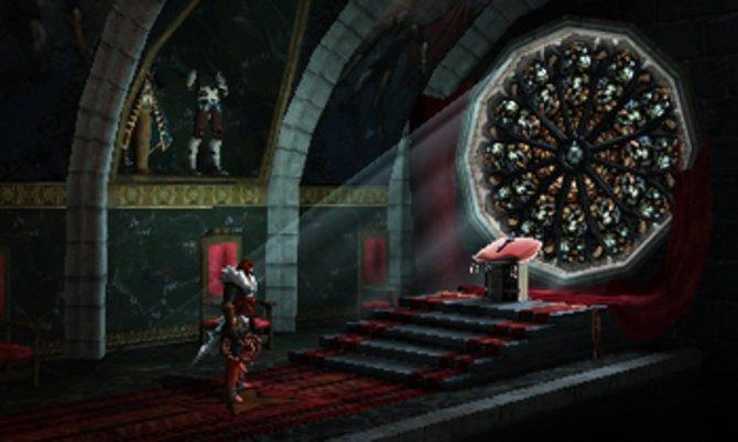 Das neue 3DS-Castlevania bietet 3D-Grafiken, spielt sich aber wie ein 2D-Abenteuer.