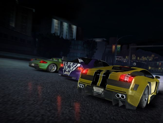 Скачать Need For Speed Carbon Collectors Edition v1.4 (Коллекционное.