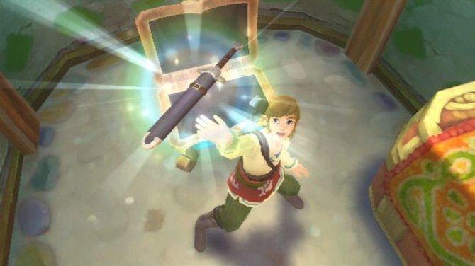 Was wäre ein Zelda-Spiel ohne die nötigen Hilfsmittel: Link fängt mit dem ...