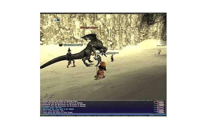 Nicht nur das Onlinerollenspiel Final Fantasy XI ist ungewöhnlich; Dirge ...