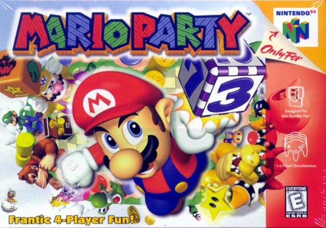 Mit diesem Bild wirbt Mario 1998 für seine erste Party. Zunächst sind aber nur die Japaner eingeladen.