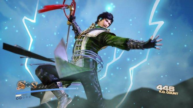 In Dynasty Warriors 7 - Empires seid ihr König und haut in den Kämpfen ordentlich zu.