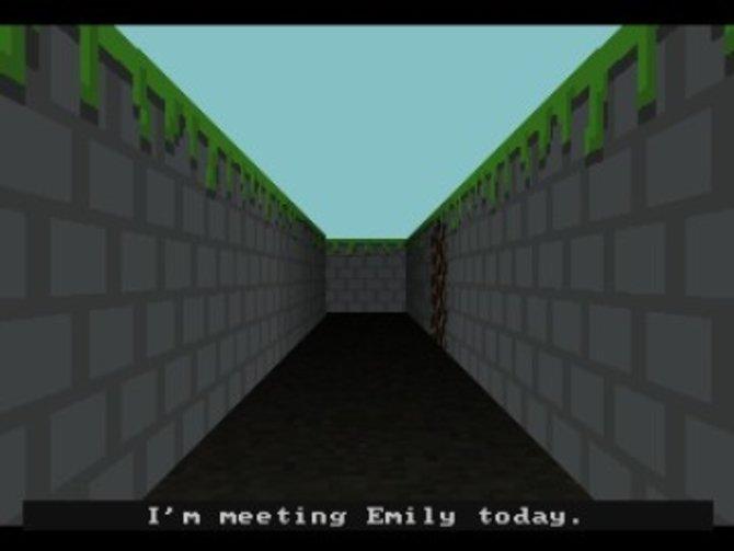 Zu Beginn des Spiels freut ihr euch, eure Freundin Emily zu treffen (Bild 1). Wie ihr seht, sind ...