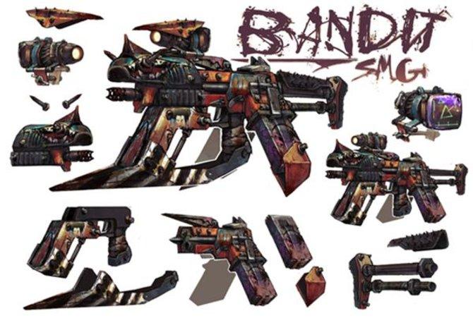 Bandit-Waffen sind das erste Mal dabei. Sie zeichnen sich durch große Magazine aus.