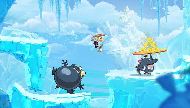 Der arm- und beinlose Hubschrauber-Haar-Held Rayman darf zum Start der PS Vita nicht fehlen.