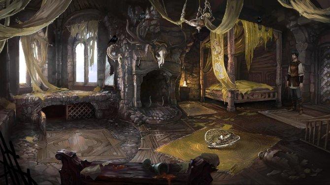 Der König hat euch den Auftrag erteilt, die Krähen im Schlafgemach zu fangen. Als Vogelfänger weiß Geron ...