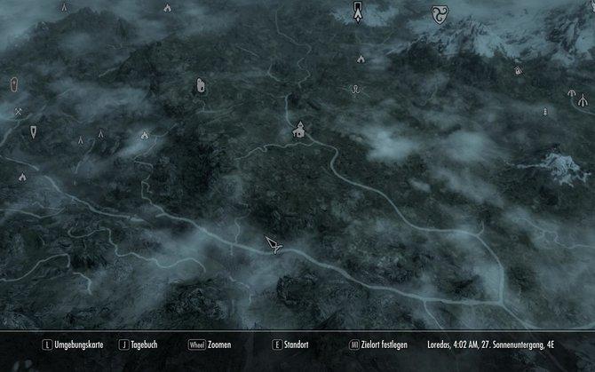 Hier seht ihr ein paar Bilder von der Karte in unterschiedlichen Regionen Himmelsrands. ...