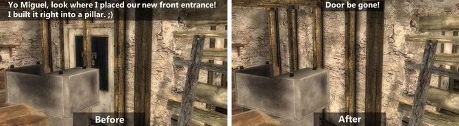 Das erste Bild demonstriert, wie die Modifikation einen sogenannten Clipping-Fehler behebt. In der ...