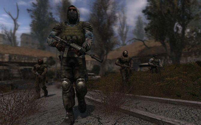 Скриншоты из игры Сталкер Сердце Зоны.