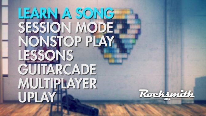 Im Menü wählt ihr aus, ob ihr ein Lied lernt oder eine Session spielt.