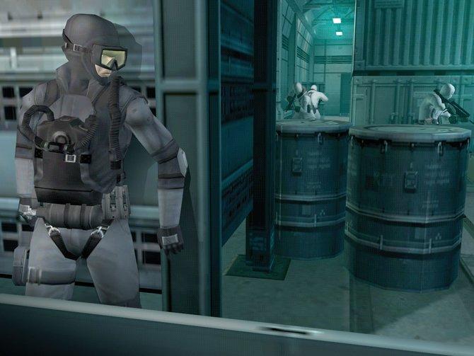 In Metal Gear kommt ihr nur mit geschickter Schleichtaktik weiter: ...