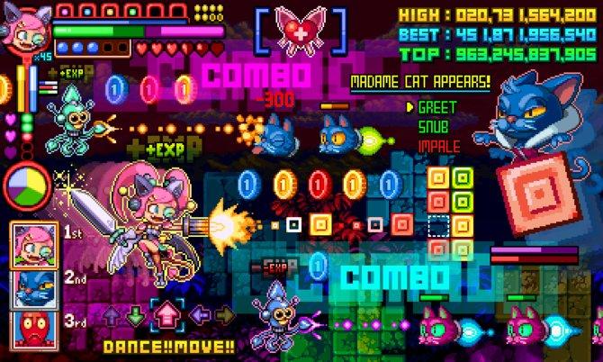 Cat Girl without Salad: Wayforwards Aprilscherz 2013. Wenn ein Spiel jedes Genre abdecken will, sieht das in etwa so aus.