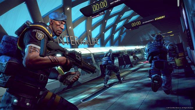 Brink besitzt einen alternativen Grafikstil und verzichtet auf übertriebenen Realismus. Im Spiel ...