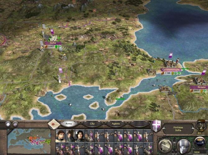 Все скрытые таланты поможет реализовать Medieval 2: Total War. . У вас нет