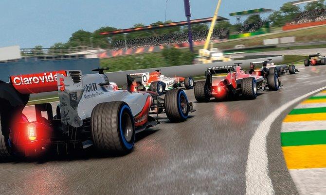 Auch 2013 dreht Hersteller Codemasters die virtuellen Motoren auf.
