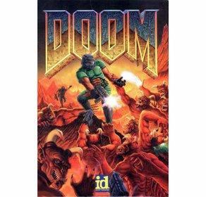 Das ikonische Titelbild des ersten Doom-Teils.