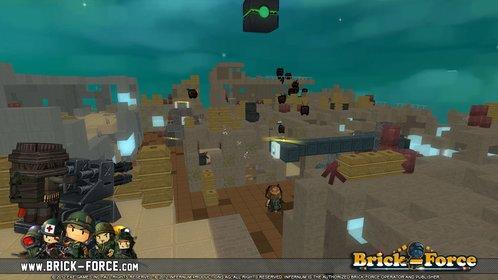 Der Shooter Brick-Force ist das erste Spiel des deutschen Betreibers Infernum.