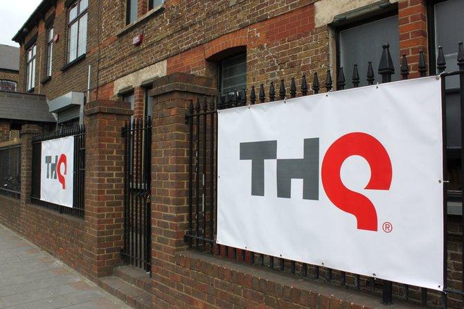 In Englands Hauptstadt präsentierte THQ ihre kommenden Spiele (links). In der ...
