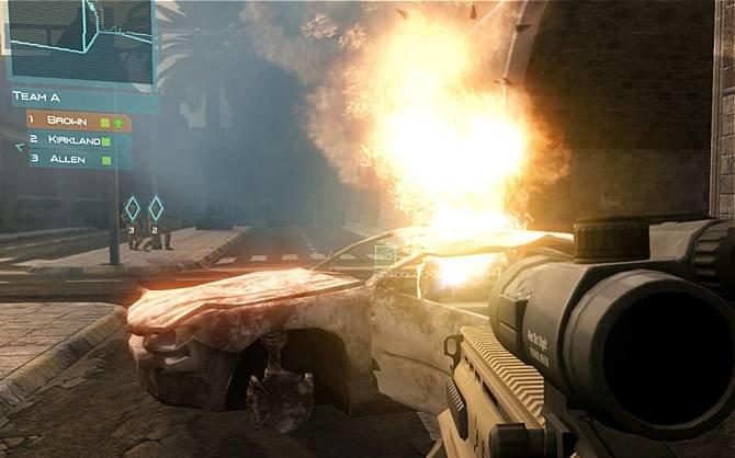 Der Taktikshooter Ghost Recon überspringt grafisch die Hürde zur nächsten ...