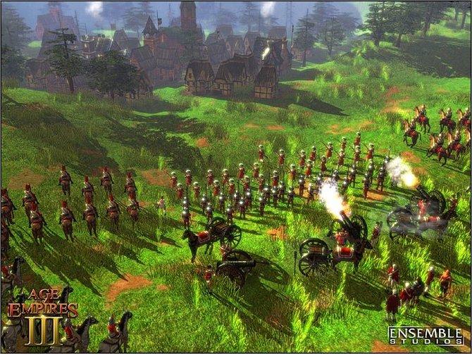 Die Kämpfe in Age of Empires 3 sind deutlich moderner und bleihaltiger. Sie reichen von ...