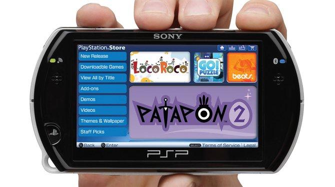 Die PSP Go wurde als Evolution der Handheld-Reihe vorgestellt und ...