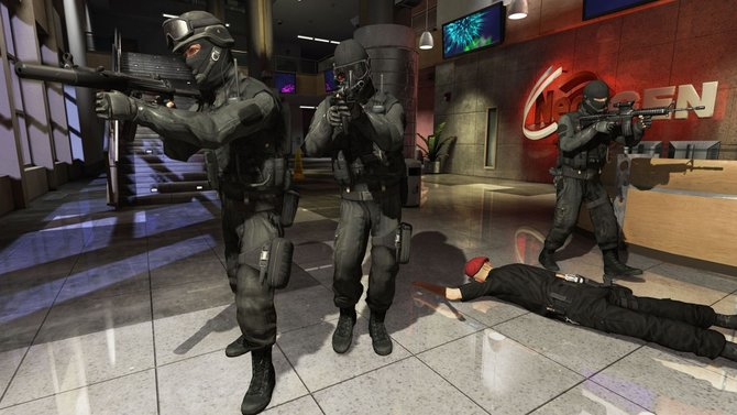 In Takedown - Red Sabre orientiert sich an den Shooter-Serien Rainbow Six and SWAT.