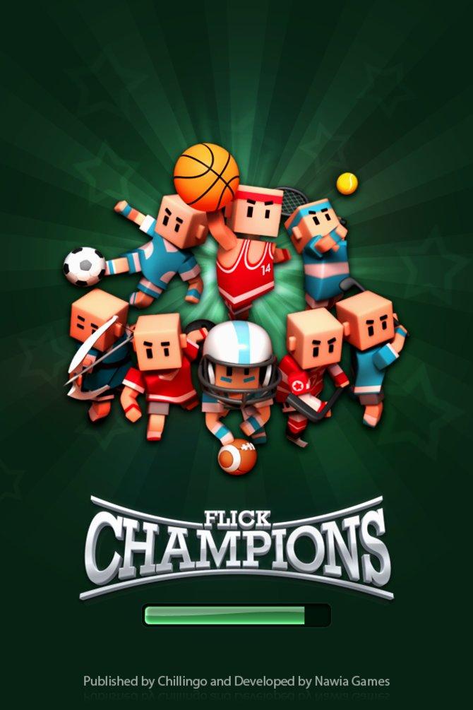 Flick Champions simuliert neben Fußball noch sieben weitere Sportarten!