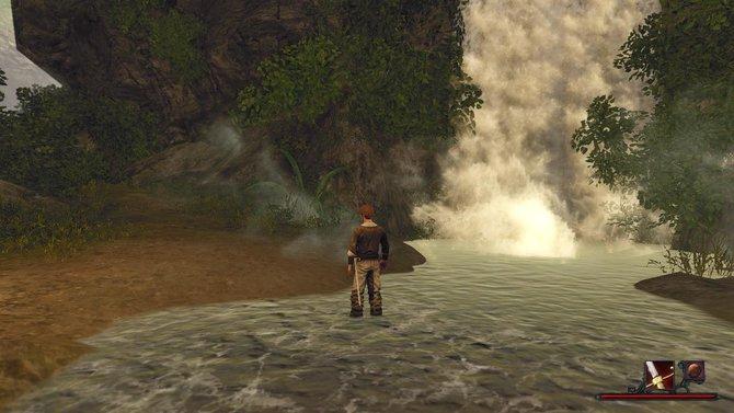 Es ist durchaus okay, wenn ihr euch die Zeit in Risen 2 damit vertreibt, die Gischt von Wasserfällen zu beobachten. Denn das sieht toll aus!