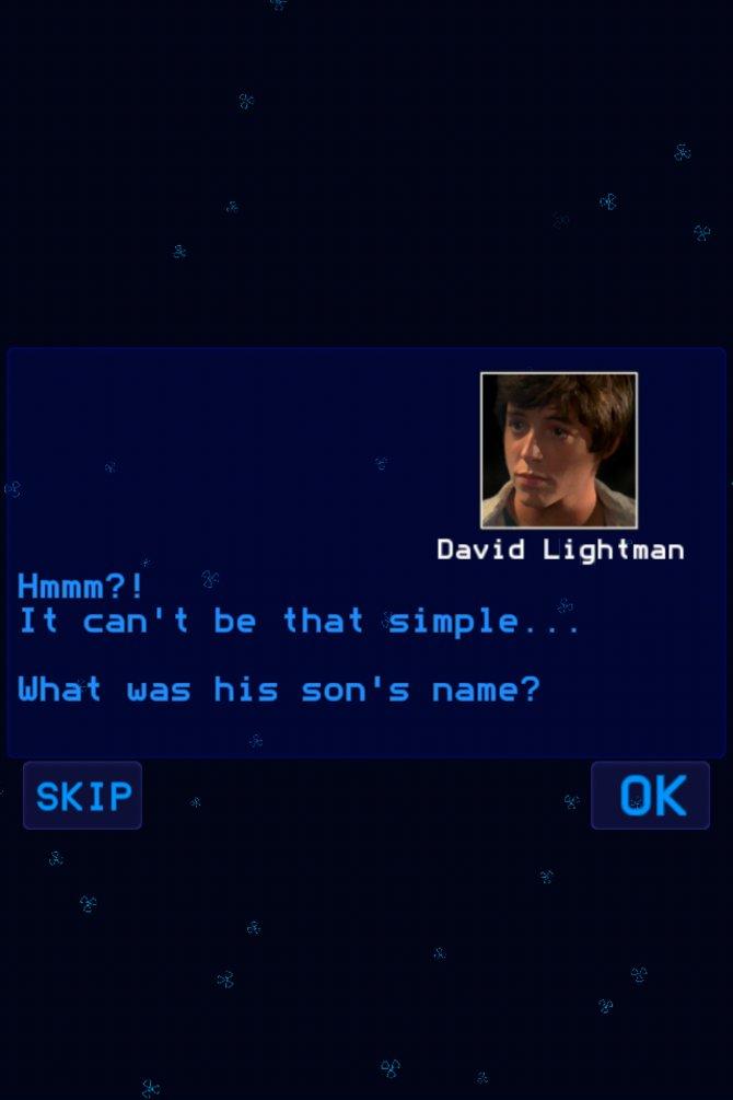 David der Hacker ist einer eurer ersten Gegner.