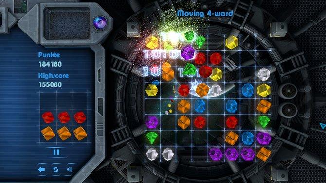 3Switched orieniert sich am Puzzle-Klassiker Bejeweled.