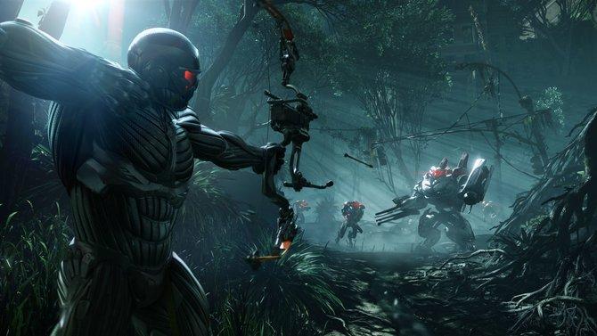 Die ersten Bilder zu Crysis 3 zeigen den Helden Prophet, der nun über einen tödlichen Bogen verfügt.