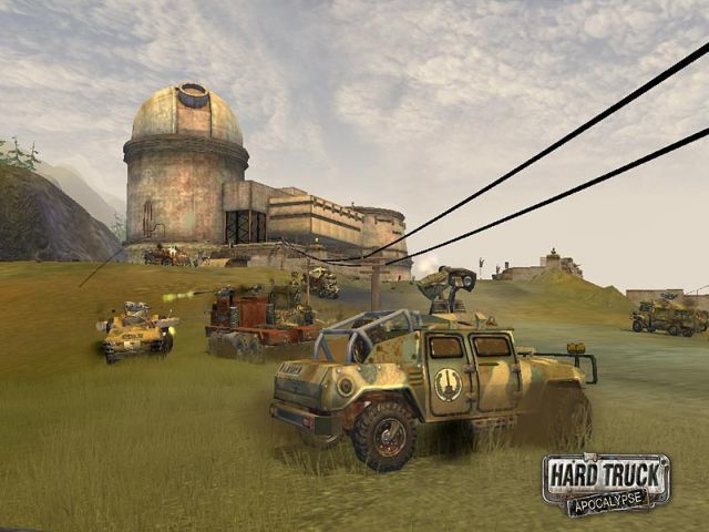 Hard Truck: Apocalypse - Rise of Clans / Ex Machina: Меридиан 113 (2006).