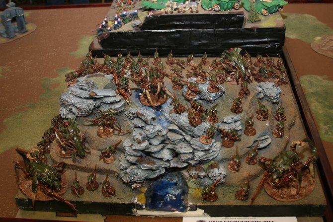 Spieler des Miniaturenspiels stecken viel Liebe zum Detail in ihre Armeen. Das seht ihr besonders gut an ...