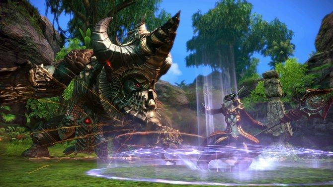 Dank Unreal Engine 3 beeindruckt Tera mit guter Grafik.