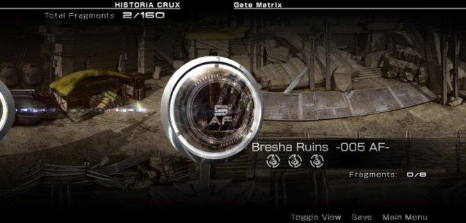 Die Demo spielt in den Bresha-Ruinen, fünf Jahre nach den Ereignissen von Final Fantasy 13.