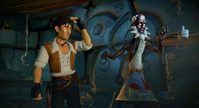 Der Schamane weiht Jack in das Geheimnis eines Schatzes ein. In Jack Keane 2 sucht ihr die Bruchstücke eines Amuletts.