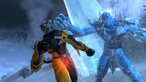 In Champions Online gehört Comic-Stil zum guten Ton. Genau wie Faustkämpfe unter Superhelden.