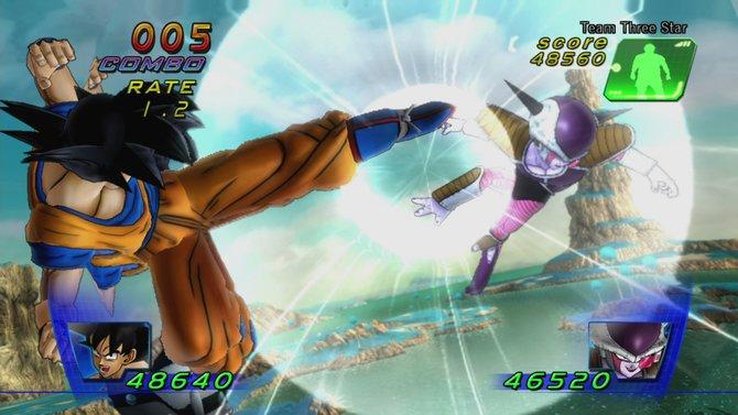 Dragon Ball Z Kinect verlangt einige Körperbeherrschung.