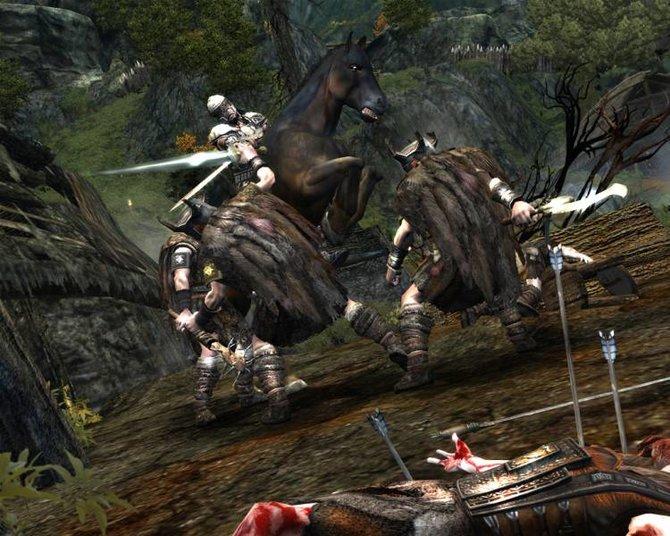 Age of Conan Unchained bietet jede Menge Schlachten. Das funktioniert auf Reittieren genauso wie zu Fuß. Massenschlachten, bei ...