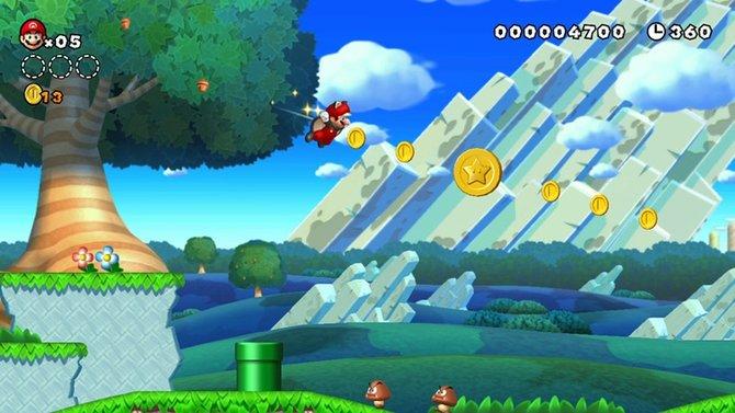 Für Marios erstes HD-Abenteuer hat Nintendo vor allem die Hintergründe aufgemotzt.