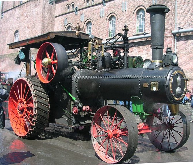 Die früheren Modelle wirkten noch wie Lokomotiven.